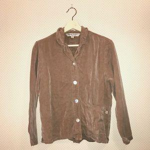 Vintage light brown lightweight jacket!